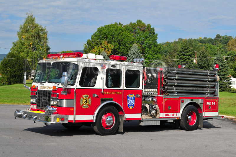 YEAGERTOWN (DERRY TWP) ENGINE 3-2 - 1993 EMERGENCY ONE PROTECTOR 1500/1000