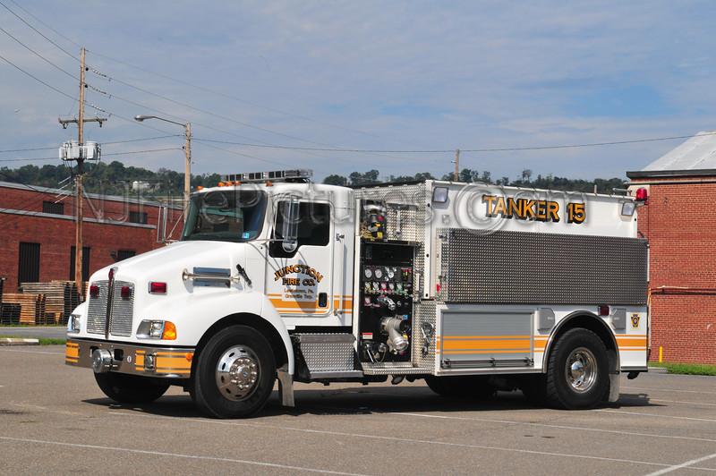 GRANVILLE TWP (JUNCTION FIRE CO.) TANKER 15 - 2005 KENWORTH T300/PIERCE 1000/2100