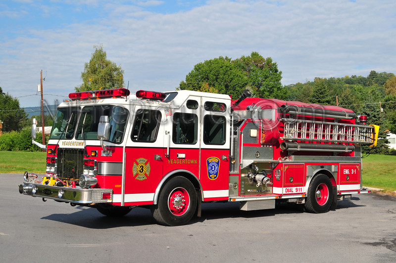 YEAGERTOWN (DERRY TWP) ENGINE 3-1 - 2000 EMERGENCY ONE 1250/970/30