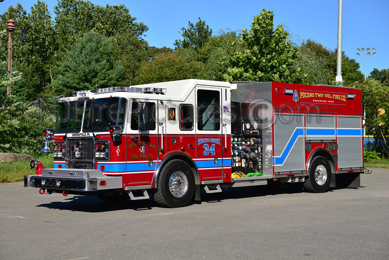 POCONO TWP (TANNERSVILLE) RESCUE-ENGINE 34