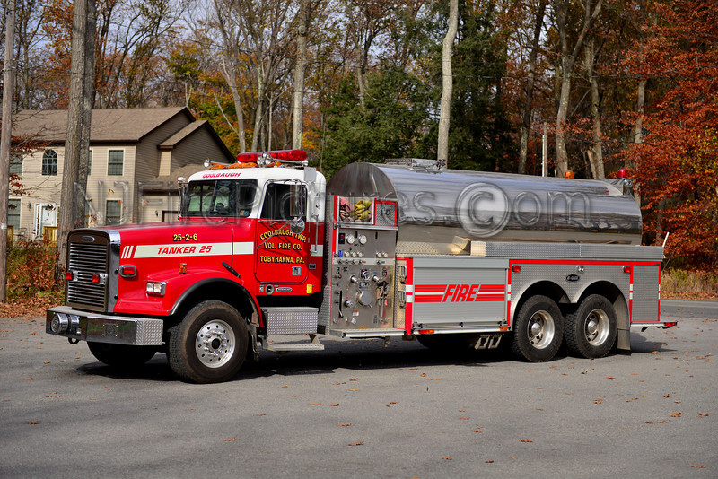 COOLBAUGH TWP, PA TANKER 25