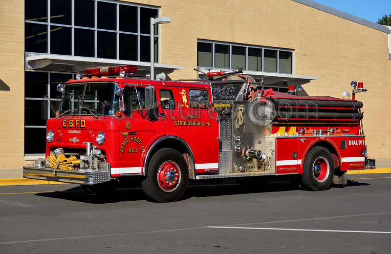 EAST STROUDSBURG ENGINE 21-6