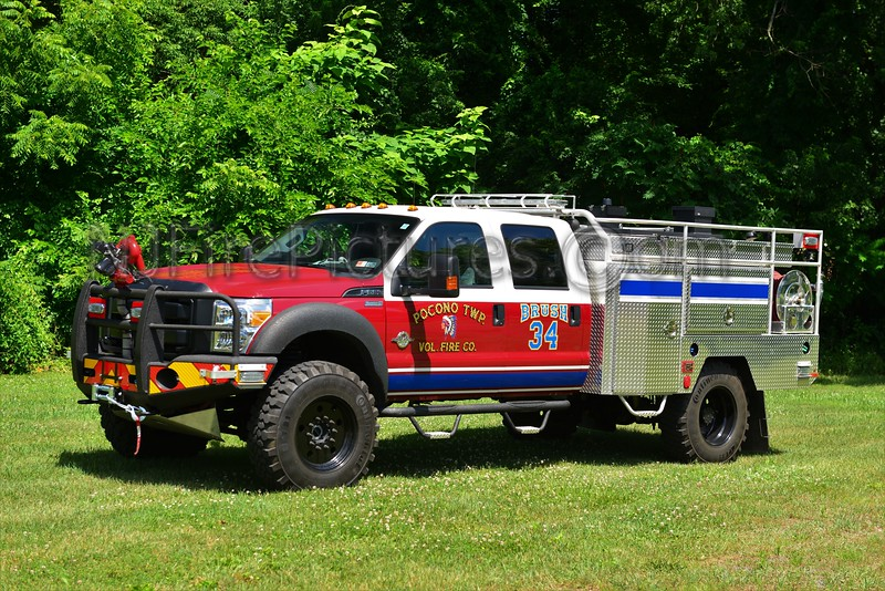 POCONO TOWNSHIP, PA BRUSH 34