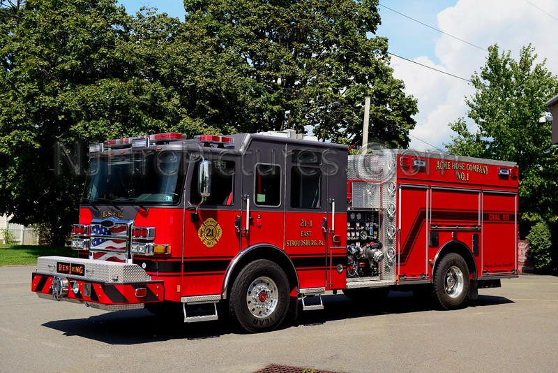 EAST STROUDSBURG, PA RESCUE ENGINE 21-1