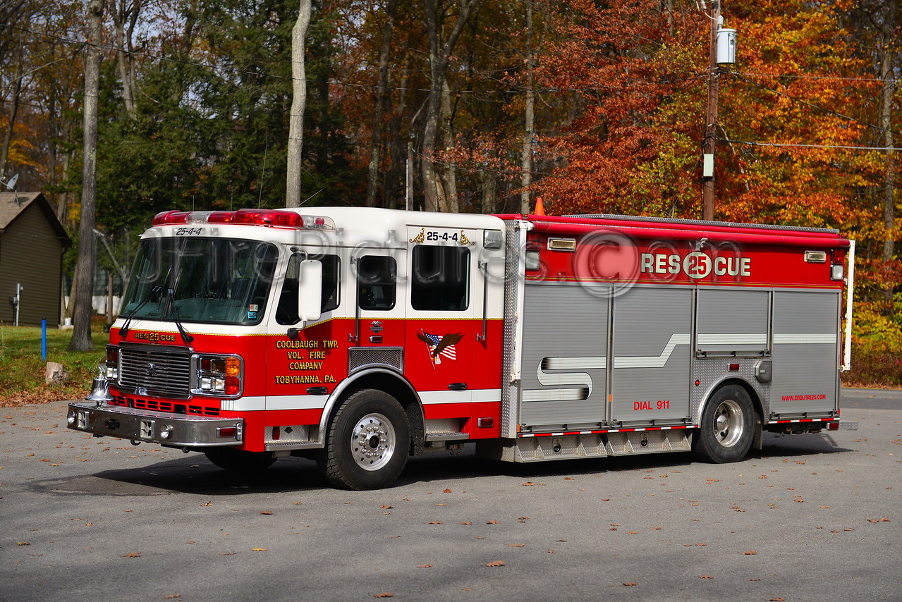 COOLBAUGH TWP, PA RESCUE 25