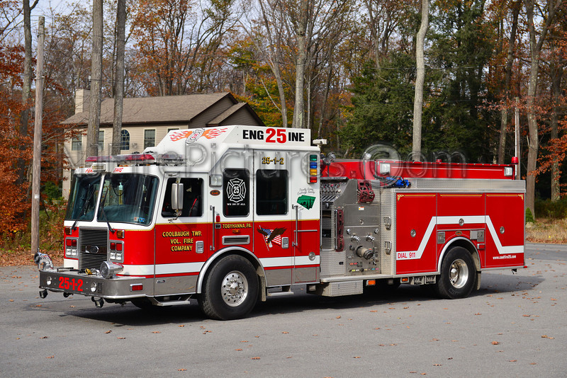COOLBAUGH TWP, PA ENGINE 25
