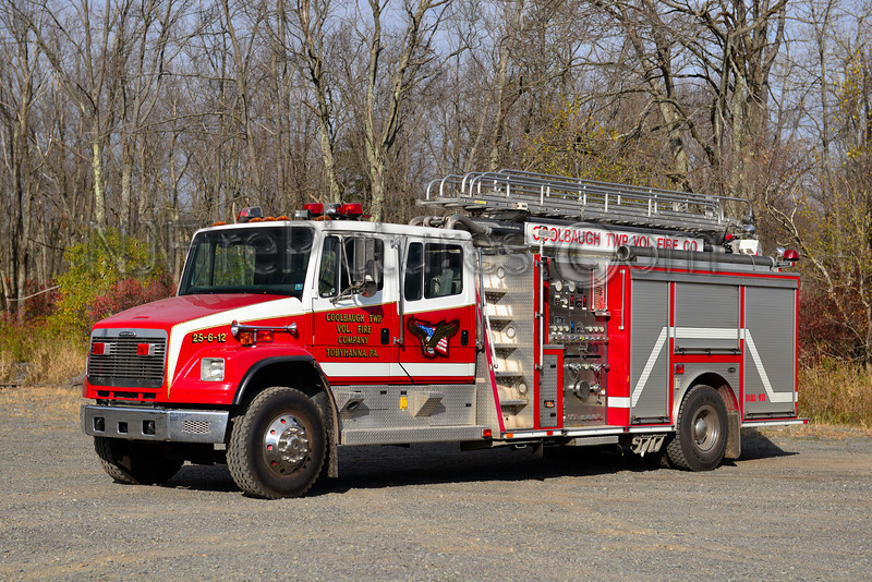 COOLBAUGH TWP, PA LADDER 25
