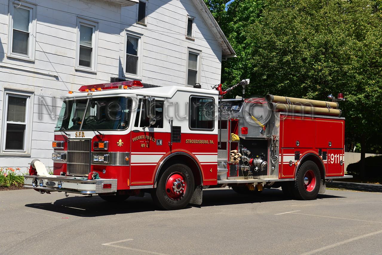 STROUDSBURG, PA ENGINE 384