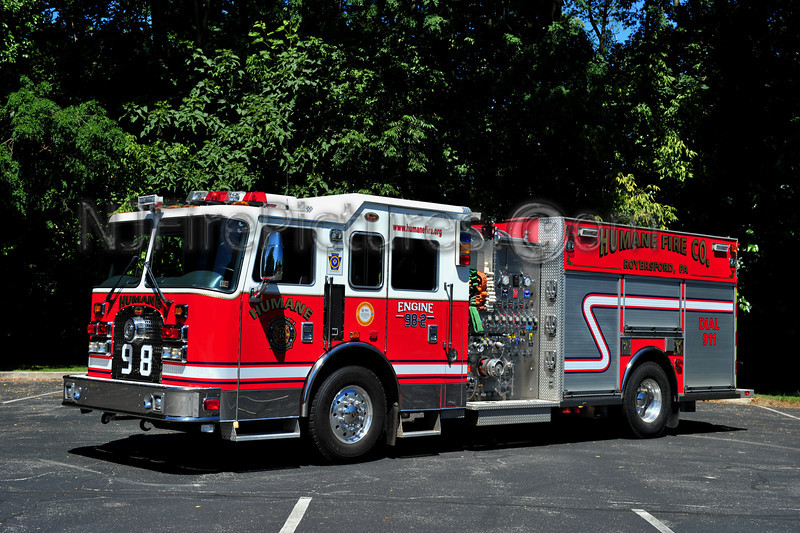 ROYERSFORD (HUMANE F.C.) ENGINE 98