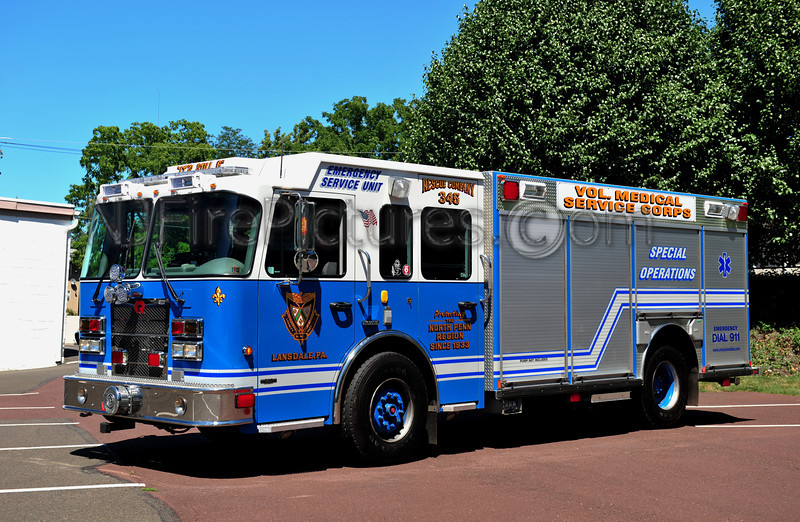 LANSDALE, PA (VOLUNTEER MEDICAL SERVICE CORPS) RESCUE 345