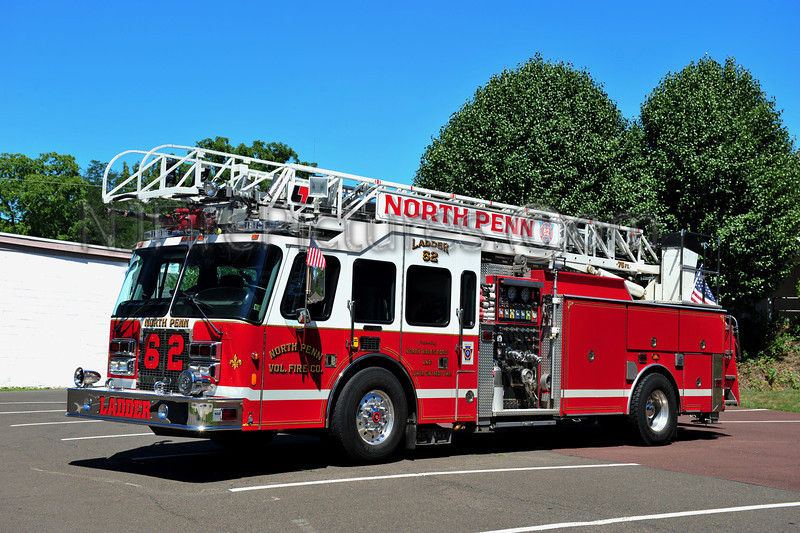 NORTH WALES (NORTH PENN FIRE CO.) LADDER 62