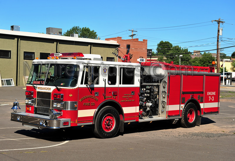 AMBLER, PA (WISSAHICKON) ENGINE 7-3