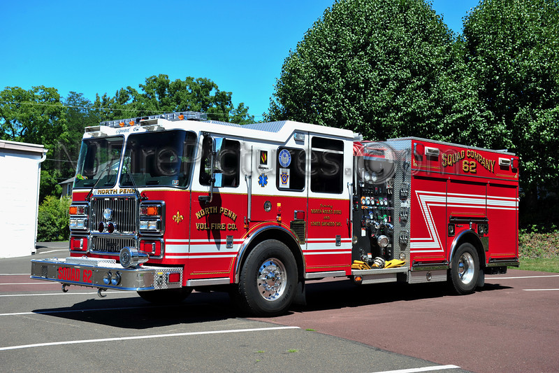 NORTH WALES, PA (NORTH PENN FIRE CO.) SQUAD 62