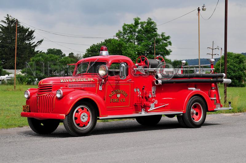 RIVERSIDE, PA - ENGINE 78 - 1941 CHEVROLET/HALE 500/150