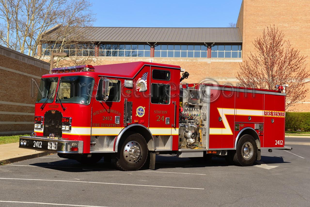 WILSON, PA ENGINE 2412