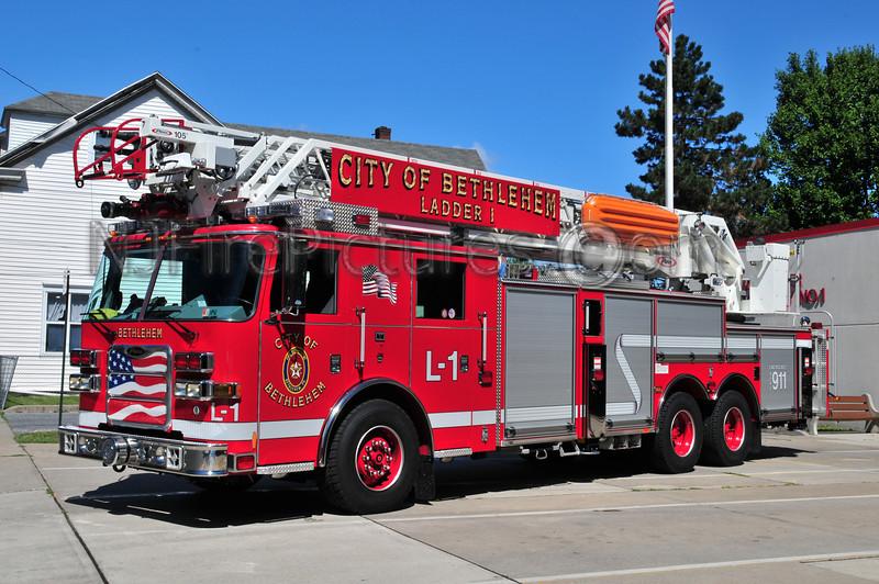 Bethlehem Ladder 1 - 2009 Pierce Arrow XT 105'