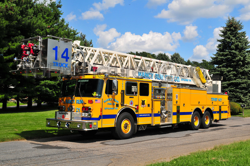 Nancy Run Truck 14-21 - 1992 Simon Duplex/LTI 2000/250/100' (Northampton County)