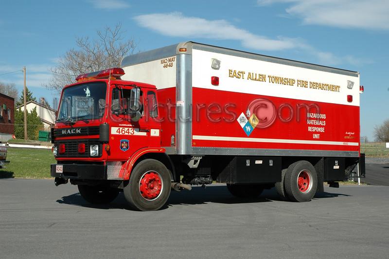East Allen Twp - Haz-Mat 4643 - Mack Box Truck