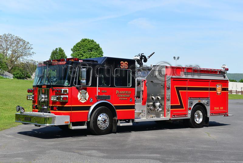 PLAINFIELD TWP, PA ENGINE 3611