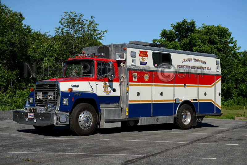 LEHIGH TOWNSHIP, PA RESCUE 4741