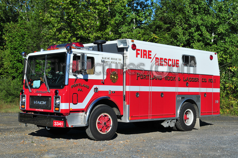 Portland, PA Rescue 3341 - 1986 Mack MC/Marion