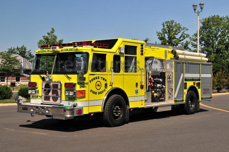 Forks Twp Engine 2511 - 2006 Pierce Enforcer 1500/1000/30