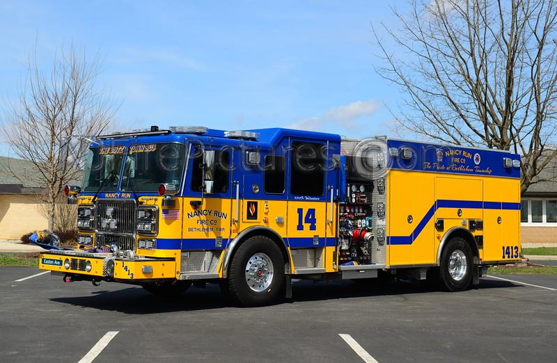 BETHLEHEM TWP, PA (NANCY RUN) ENGINE 1413