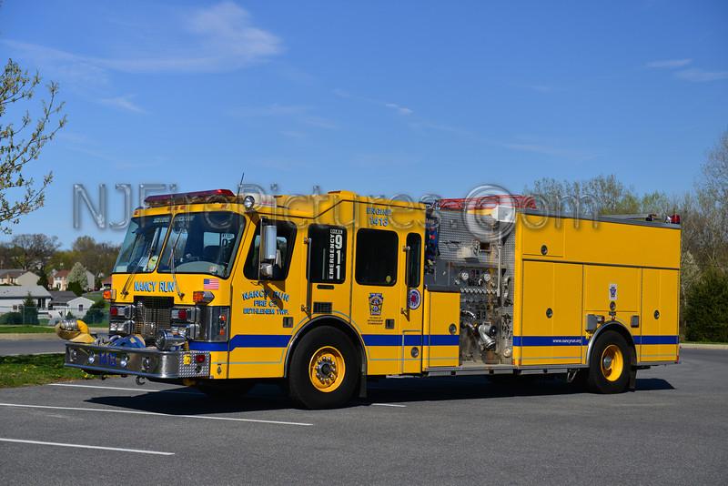 BETHLEHEM TWP (NANCY RUN FIRE CO.) ENGINE 1413 - 1997 SIMON DUPLEX/MARION 1500/1300