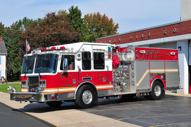 HELLERTOWN, PA (DEWEY FC) ENGINE 13 - 2005 KME PREDATOR 1500/750/??