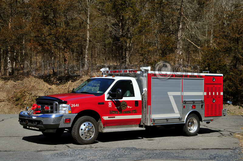 LOWER MOUNT BETHEL (SANDT'S EDDY FIRE CO.) ENGINE 2641 - 2003 FORD F550/??? 500/300/20