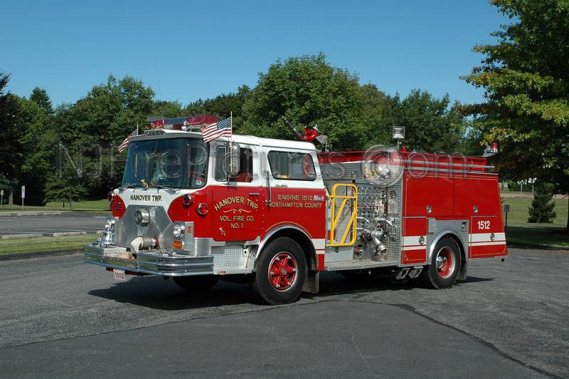 Hanover Twp - Engine 1512 - 1973/1992 Mack CF/JC Moore 1250/500