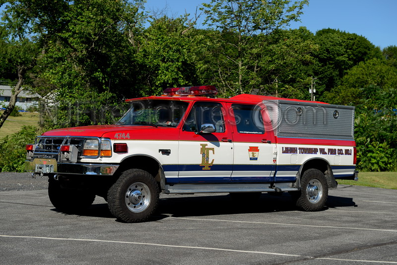 LEHIGH TOWNSHIP, PA FIRE POLICE 4744