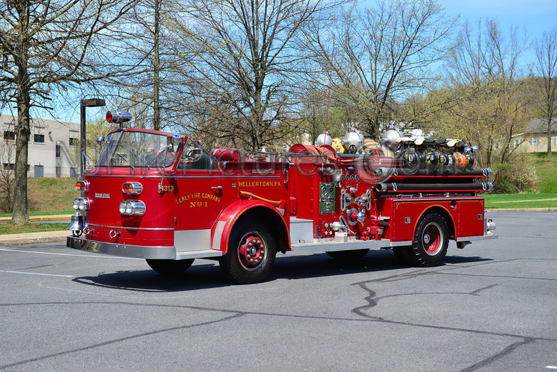 HELLERTOWN, PA ENGINE 1313 - 1959 AMERICAN LAFRANCE 750/300 NOW PRIVATELY OWNED