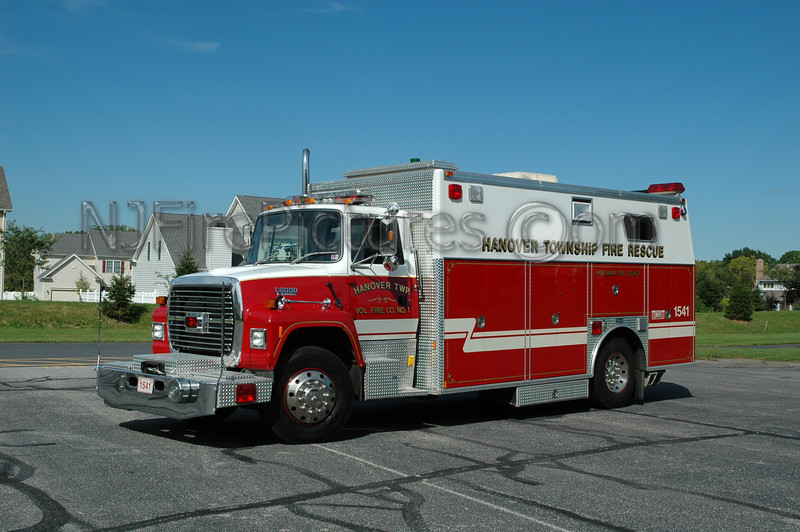 Hanover Twp - Rescue 1541 - 1994 Ford L8000/Marion