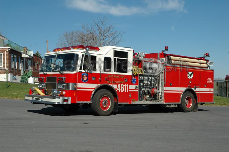 East Allen Twp - Engine 4611 - 1997 Pierce Saber 1500/750