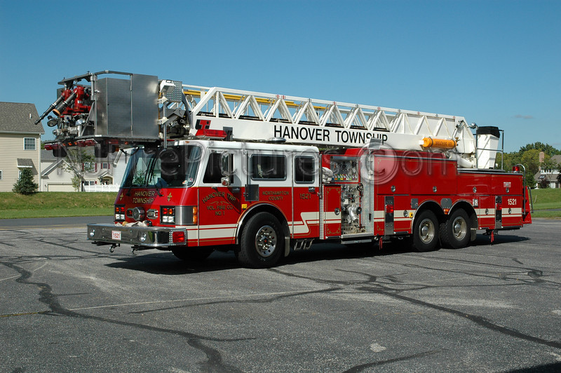 Hanover Twp - Ladder 1521 - 1992 Simon Duplex/LTI 2000/250/85'