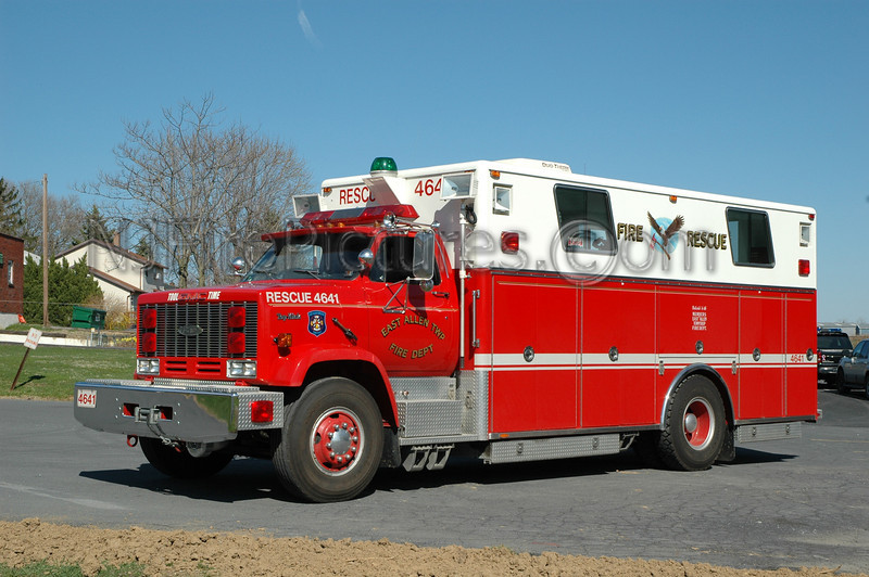 East Allen Twp - Rescue 4641 - 1989 GMC TOP KICK/Pierce
