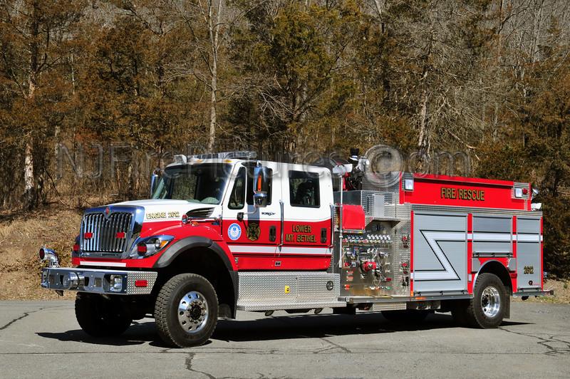LOWER MOUNT BETHEL (SANDT'S EDDY FIRE CO.) ENGINE 2612 - 2011 INTERNATIONAL/ROSENBAUER 1500/1000