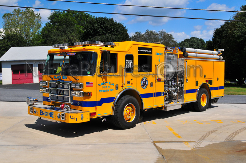 Nancy Run Engine 14-11 - 2007 Pierce Dash 1500/750/55 (Northampton County)