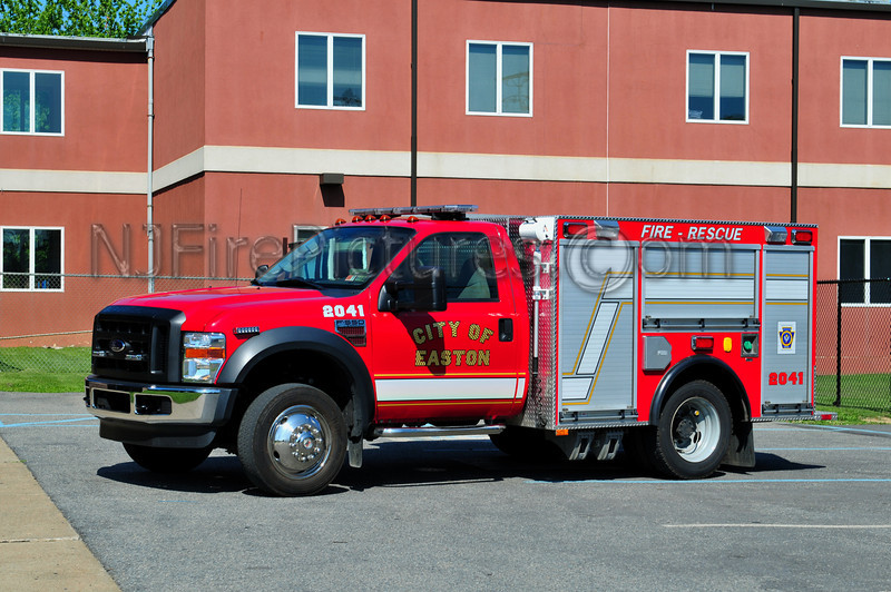 CITY OF EASTON 2041 - 2008 FORD F550/FREEDOM FIRE EQUIPT.  (SHIFT COMMANDER)