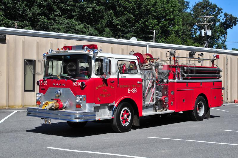 Bushkill Twp Engine 5214 - 1974 Mack CF 1000/1000