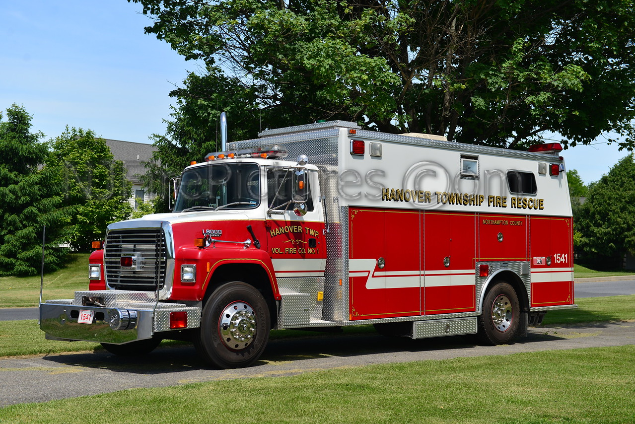 HANOVER TWP, PA RESCUE 1541