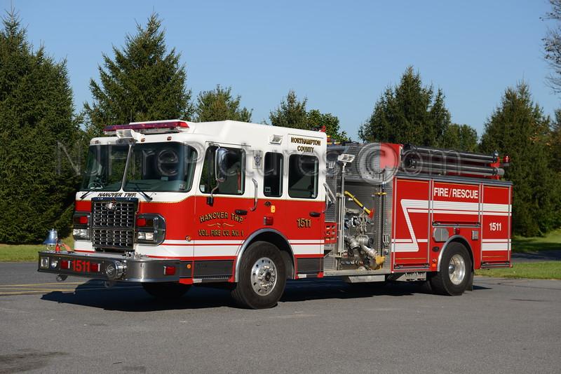 HANOVER TOWNSHIP, PA ENGINE 1511