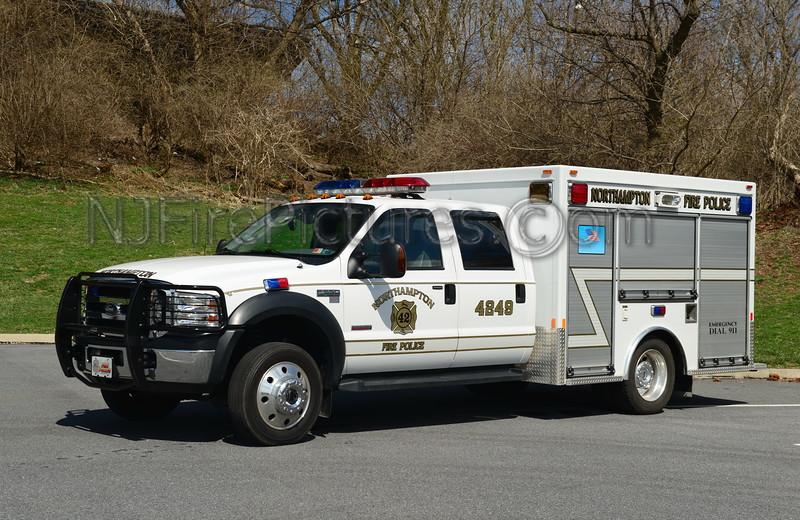NORTHAMPTON, PA FIRE POLICE 4249