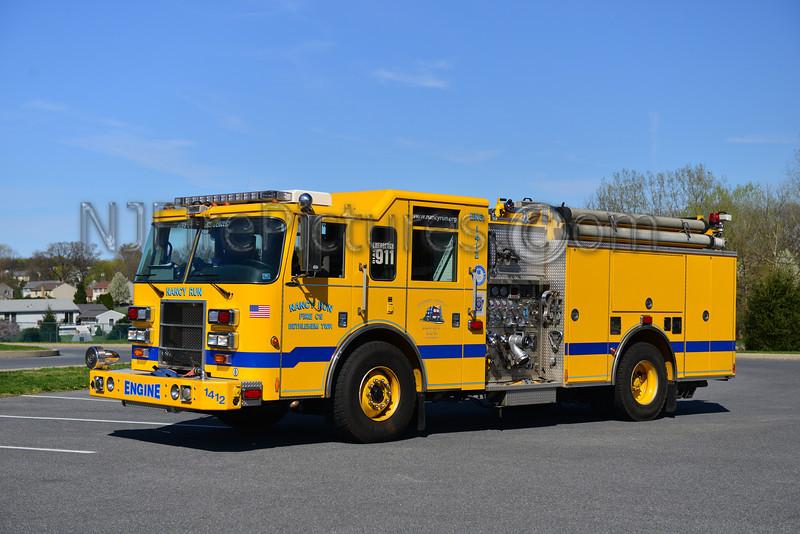 BETHLEHEM TWP (NANCY RUN) ENGINE 1412 - 2003 PIERCE DASH 1500/750