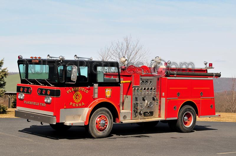 PLAINFIELD TWP ENGINE 3612 - 1979 AMERICAN LAFRANCE PIONEER 1000/500 EX-ROSETO, PA