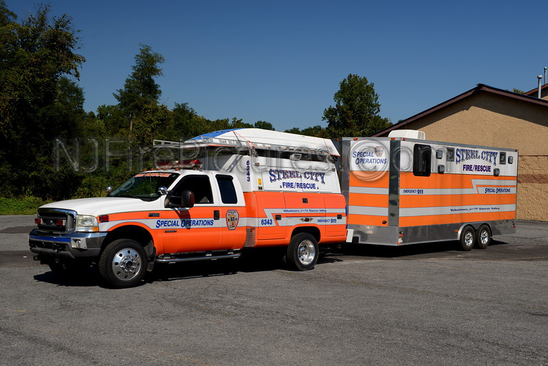 STEEL CITY, PA UTILITY 6343 & SPECIAL OPERATIONS TRAILER