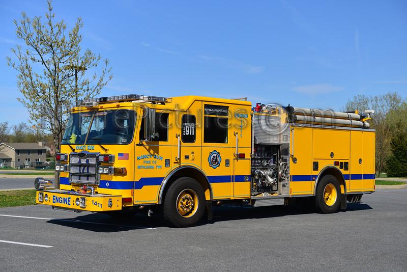 BETHLEHEM TWP (NANCY RUN) ENGINE 1411 - 2007 PIERCE DASH 1500/750/50