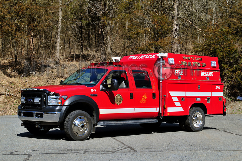 LOWER MOUNT BETHEL (SANDT'S EDDY FIRE CO.) RESCUE 2645 - 2006 FORD F550/READING