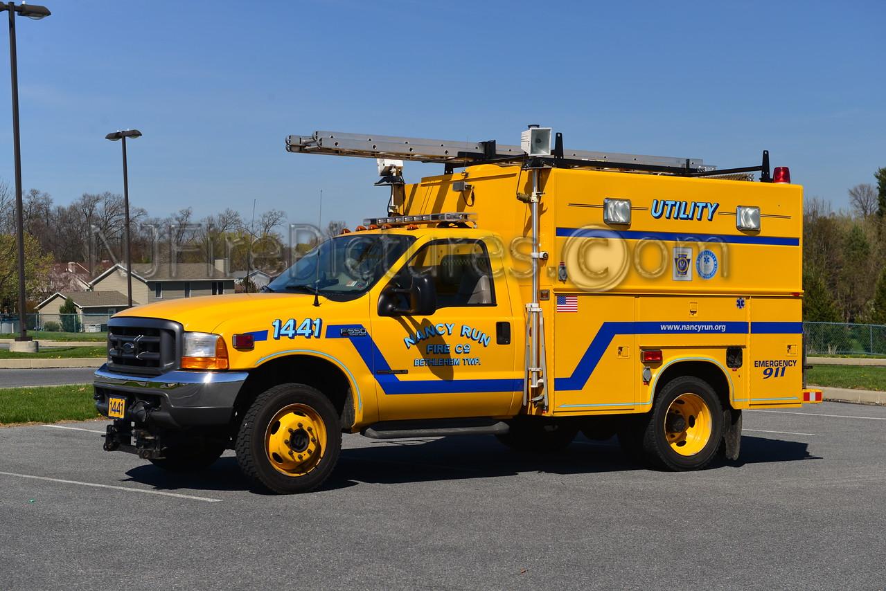 BETHLEHEM TWP, PA NANCY RUN FIRE CO. UTILITY 1441